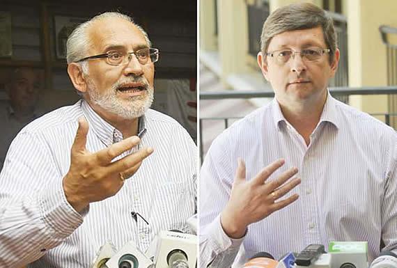 Patrimonios de Ortíz y De Mesa superan al de Evo Morales