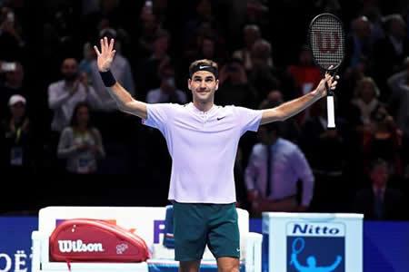 Federer logra las semifinales por decimocuarta vez