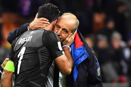 Ventura, la cara visible del fracaso de Italia deja la selección sin dimitir
