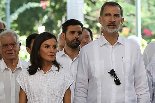 Los Reyes de España se despiden de Cuba