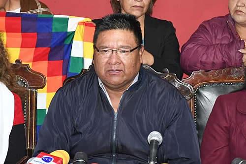 Choque pide a El Alto que movilizaciones no dañen la propiedad