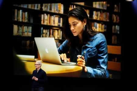 Nuevo MacBook Pro de Apple tendrá lector de huellas y barra táctil en teclado