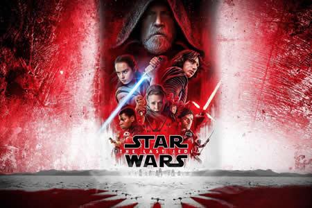 """""""Star Wars: The Last Jedi"""" logra 45 millones en EE.UU. en su noche de estreno"""