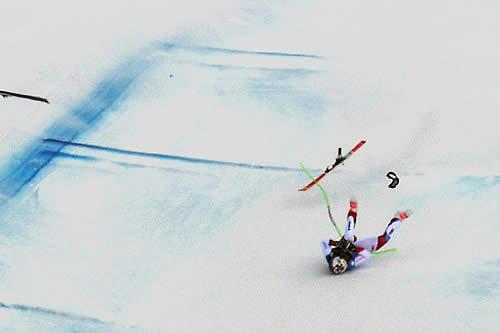 La brutal caída del esquiador suizo Marc Gisin en una prueba de la Copa del Mundo