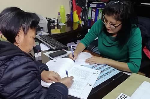 Comisión Legislativa de La Paz habilita a 25 postulantes a vocales del TED para fase de ternas