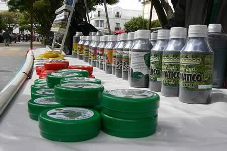 Argentina y Uruguay están interesados en importar productos derivados de la hoja de coca