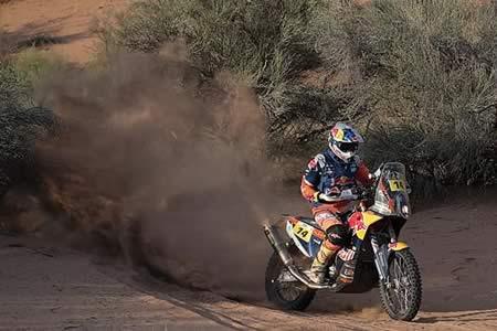 Sunderland, a un paso de ganar el Dakar tras la undécima etapa