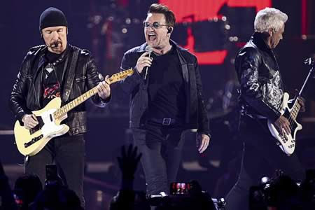 U2 agota en ocho horas las entradas para su concierto en Barcelona