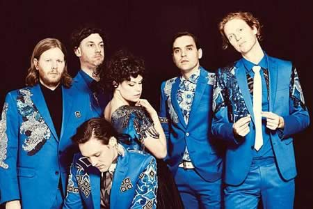 "Arcade Fire lanza el tema ""I give you power"" ante la investidura de Trump"