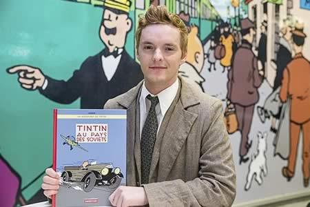 Primer cómic de Tintín, reeditado en color 88 años después de su publicación