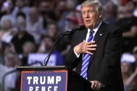 Discurso migratorio de Trump causa expectativa en demócratas y republicanos