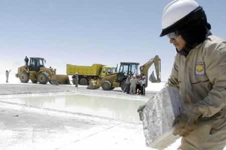 Bolivia exporta segundo cupo de carbonato de litio a China