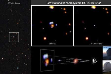 Descubren una de las galaxias más brillantes a 11.400 millones de años luz