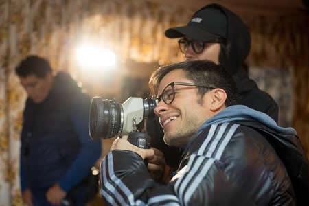 """""""Chicuarotes"""", el filme de García Bernal que se rueda entre huellas del sismo"""