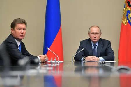 """Putin destaca el """"colosal trabajo"""" realizado por Gazprom en estos 25 años"""