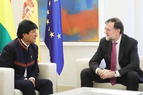 Morales logra compromiso de España para eliminar visa