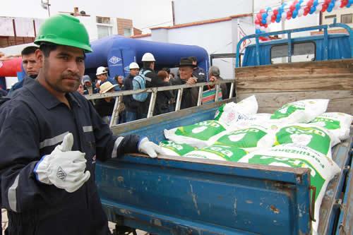 YPFB proyecta aumentar 70% consumo de urea en Chuquisaca