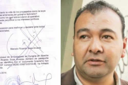 Soza en interrogatorio expuso dudas e irregularidades del caso terrorismo