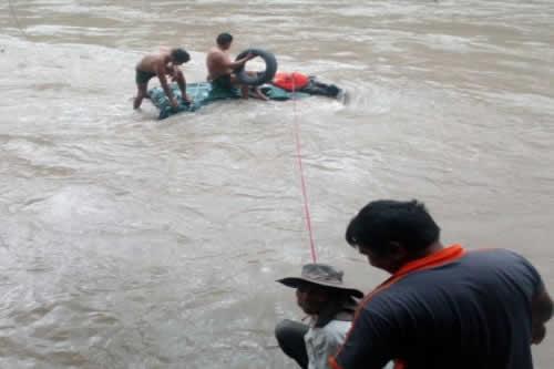 La Asunta: Reportan heridos y desaparecidos por accidente