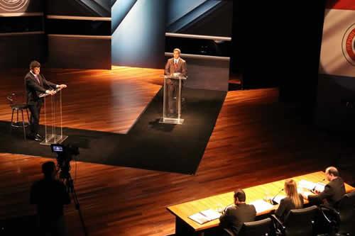Más coincidencias que diferencias en único debate presidencial en Paraguay