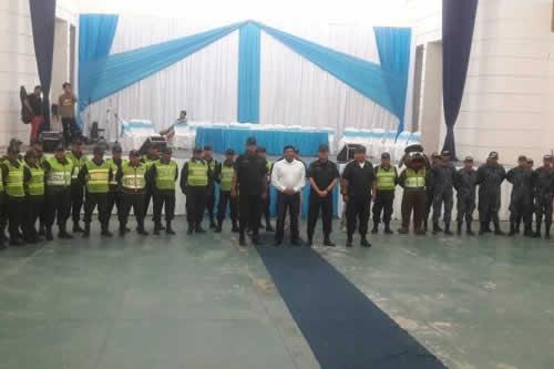 Policía retorna a Camiri tras los enfrentamientos de 2017