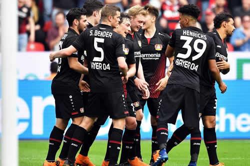 El Bayer Leverkusen da un gran paso hacia la Liga de Campeones