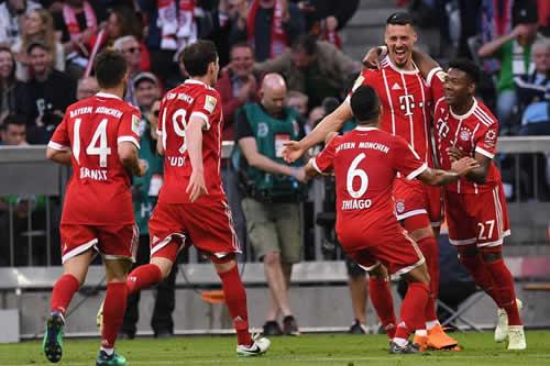 El Bayern estrena el título con goleada ante el Gladbach (5-1)