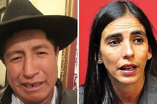 Gabriela Montaño responde a conminatoria de Quispe