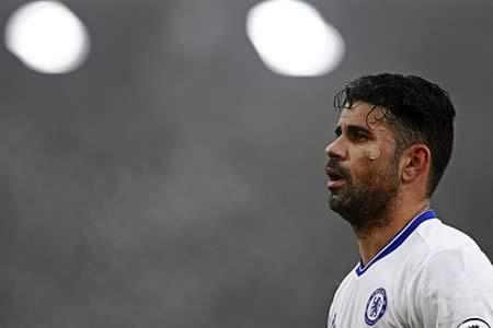 Diego Costa vuelve entrenar con la primera plantilla del Chelsea