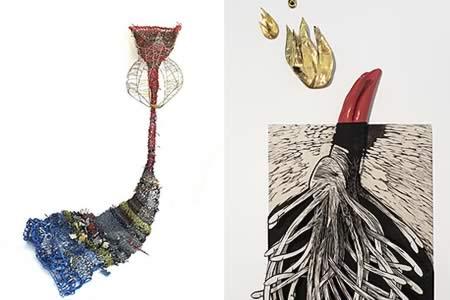 Artista Susana Guerrero irrumpe con sus mitologías y mundo onírico en Miami