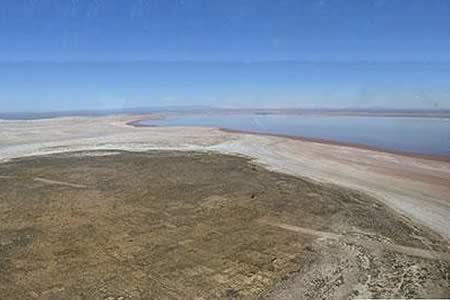 Ferreira: el lago Poopó recuperó sus aguas en un 70%