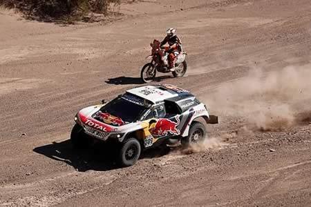 Loeb gana la décima etapa y mantiene el liderato a falta de dos jornadas
