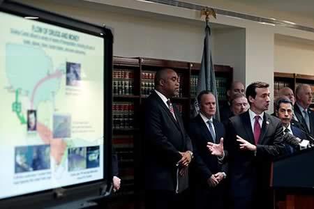 """""""El Chapo"""", acusado de 17 delitos y puede ser condenado a cadena perpetua"""