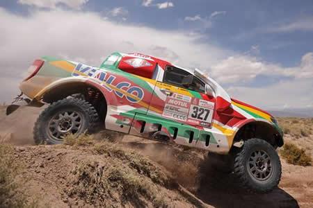 Nosiglia y Bulacia no aflojan se mantienen en el puesto 12 de la clasificación general del Dakar