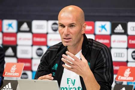 "Zidane: ""No veo a un Real Madrid sin Cristiano Ronaldo"""
