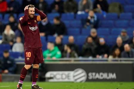 El Espanyol sorprende al Barcelona a última hora
