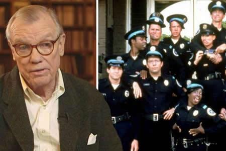 """Muere Hugh Wilson, el director de la película """"Police Academy"""""""