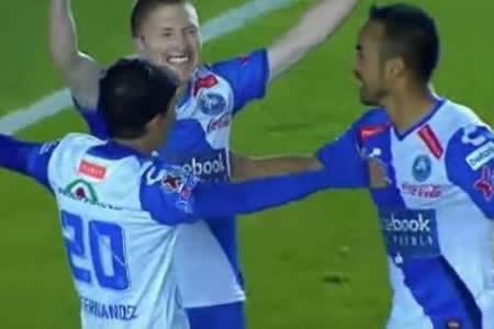 Alejandro Chumacero marco su primer gol con el Puebla