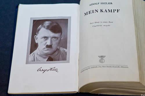 """Alemania estudia llevar a juicio un estreno de """"Mein Kampf"""""""