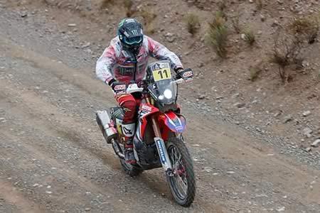 """Barreda: """"Fue la etapa más dura de este Dakar"""""""