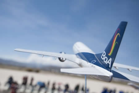 BoA amplía oferta de vuelos a Potosí con avión de 140 pasajeros