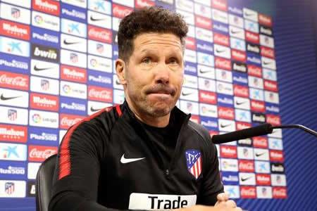 """Simeone: """"Vamos a enfrentar al mejor equipo del mundo en este momento"""""""