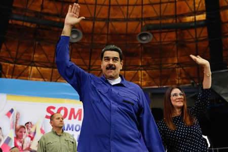 Maduro pide a oposición que trabaje para levantar sanciones internacionales