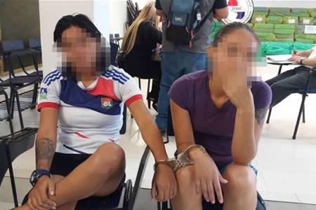 Dos futbolistas bolivianas caen con cocaína en Paraguay