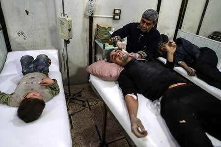 Al menos 18 muertos por bombardeos y disparos de artillería cerca de Damasco