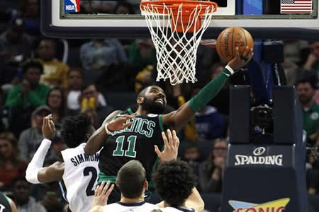 Irving y los Celtics superan a los Grizzlies
