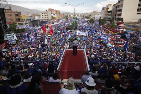 Morales: estamos habilitados para 2020-25, eso no está en debate