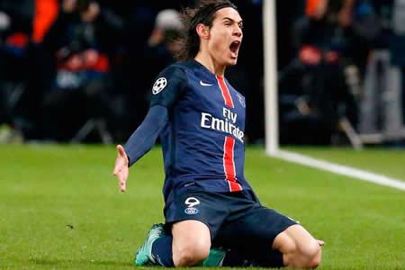 Unai Emery quiere que Cavani supere el récord de goles del PSG