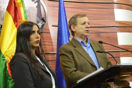 Gonzales y Montaño serán ratificados en presidencias