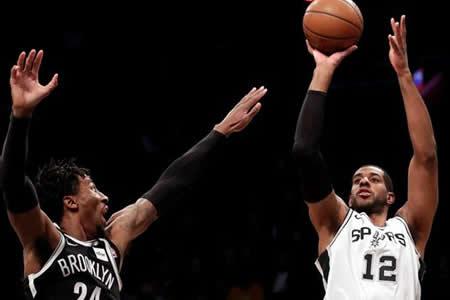 Aldridge, Mills y Gasol lideran el triunfo de Spurs, sin Leonard